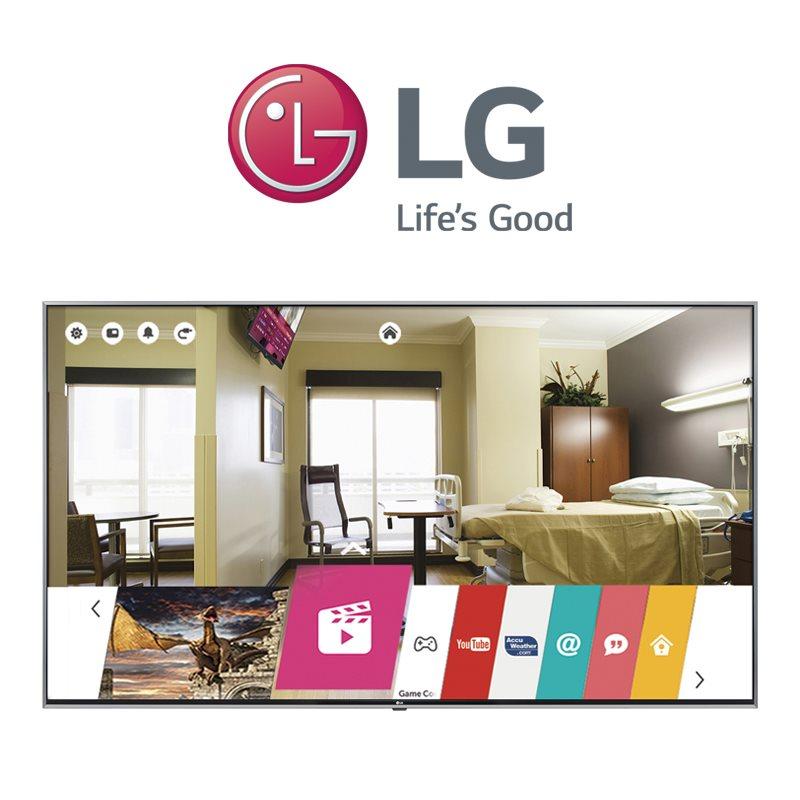 LG Hospital Patient Rooms